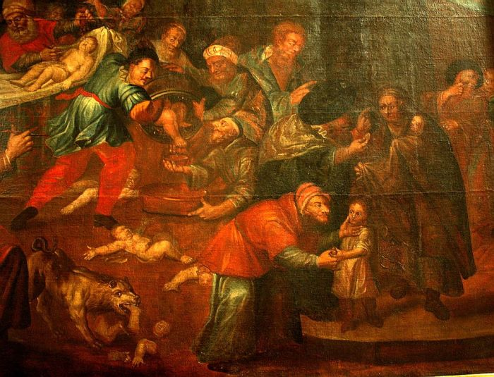 De Prevot's painting. Source: Wiki Media,